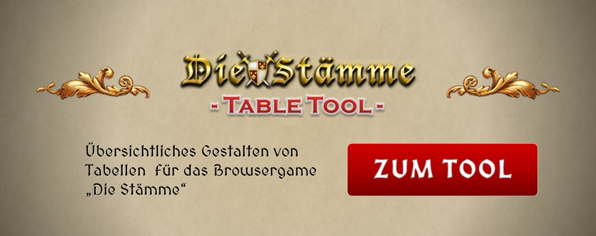 DS Table Tool